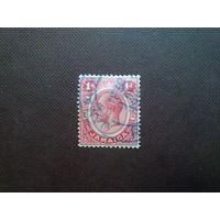 Британская Ямайка 1912 г.Георг -V.