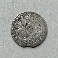 Монета Орт 1/4 талера 1623 г. Польша Сигизмунд lll РЕДКИЙ Отличный