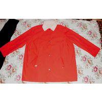 Куртка женская двусторонняя. Большой размер