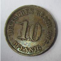 Германия. 10 пфеннигов 1902 A .  1-40