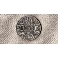 Суринам 100 центов 1989(Bh)