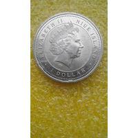 Монета 1 доллар.