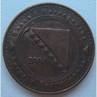 Босния и Герцеговина 10 фенингов 2004 г.