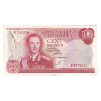 Люксембург 100 франков 1970 года. Редкая!