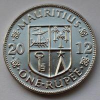 Маврикий 1 рупия, 2012 г.