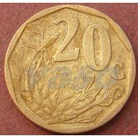 6074:  20 центов 2009 ЮАР