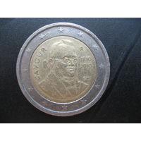 2 евро Италия Кавур писатель 2010 интересует и обмен