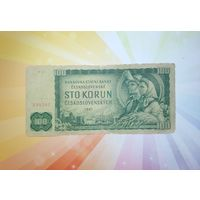 Чехословакия 100 корон 1961г
