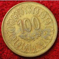 7263:  100 миллимов 1993 Тунис
