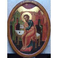 """Икона Мстёра """"Святой апостол и евангелист Марк"""". конец 19ого века."""