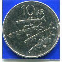Исландия 10 крон 2006 UNC