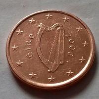 1 евроцент, Ирландия 2006 г., AU