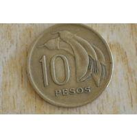 Уругвай 10 песо 1968