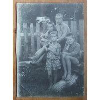 Фото детей 1950-х. 12х17 см.