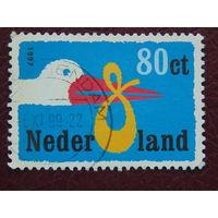 Нидерланды. Птицы. 1997г.