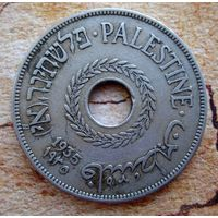 Палестина. 20 милс 1935 г. Редкая.