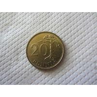 Финляндия 20 пенни