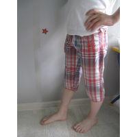 Капри шорты для девочки на рост 116-122
