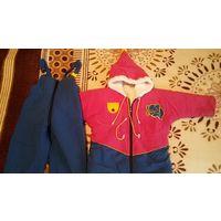 Куртка и полукомбенезон (комплект) - рост 98