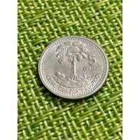 Гватемала 5 сентаво 2000 г