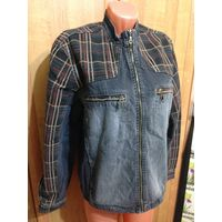 Джинсовая куртка VIVALDI на 46-48 размер.