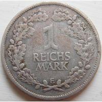 15. Германия, Веймарская республика 1 марка 1925 год, серебро