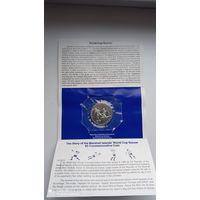 5 долларов Маршалловы о-ва 1994 ЧМ футбол