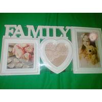ФОТО РАМКА FAMILY LOVE