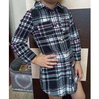 Платье -рубашка р.92-104