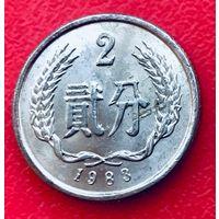 07-19 Китай, 2 фэня 1983 г.