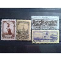 1953 Виды Ленинграда 2-й выпуск полная серия Михель-12,0 евро