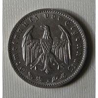 Третий Рейх, 1 Рейхсмарка 1934 J