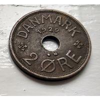 Дания 2 эре, 1929  2-2-2