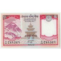 Непал, 5 рупий 2012 год, UNC.