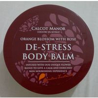 БАЛЬЗАМ/КРЕМ для тела Calcot Manor De-Stress Body Balm Апельсиновый цвет (флердоранж) с розой