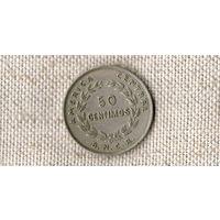 Коста-Рика 50 сентимо 1948 //(ON)