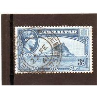 Гибралтар.Ми-111. Мыс Европа и король Георг VI. 1942.