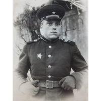 Старшина артиллерист с орденом 1950