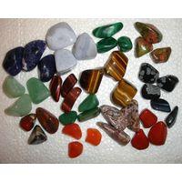 Минерал камень Голубой агат (цена за один)