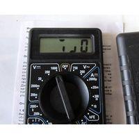 Неисправный цифровой мультимер DT832