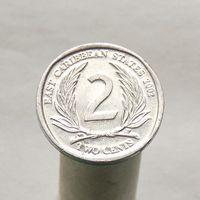 Восточно-Карибские Штаты 2 цента 2002