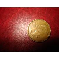 1 цент 1991 год Мальта