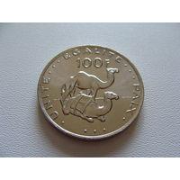 Джибути. 100 франков 2013 год КМ#26