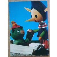 Игрушки-куклы. Венгрия. 1970-е. Чистая.