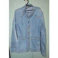 Куртка - жакет джинсовая
