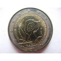 Нидерланды 2 евро 2013г. 200 лет Королевству. (юбилейная) UNC!