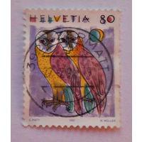Швейцария, 1991 г., Совы