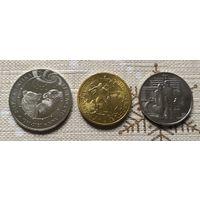 Набор монет.Польша.Казахстан.Россия