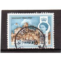 Бермудские острова.Ми-164. Дом губернатора. Серия: Изображения королевы Елизаветы II. 1962.