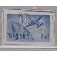 Авиация самолеты Канада вырезки из маркированных конвертов 1970-е годы? лот 7